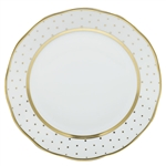 Herend China Connect the Dots Dinner Plate