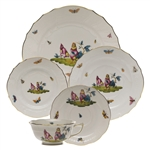 Herend Chanticleer Five Piece Place Setting Motif 2