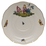 Herend Chanticleer Tea Saucer Motif #2