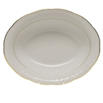 Herend Golden Edge Oval Vegetable Dish