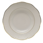 Herend Golden Edge Rim Soup Plate