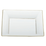 Herend China Jewelry Tray Golden Edge