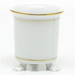Herend Golden Edge Mini Cachepot with Feet