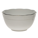 Herend Platinum Edge Round Serving Bowl