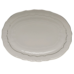 Herend Platinum Edge Platter