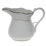 Herend Platinum Edge Creamer