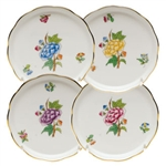 Herend Victoria Garden Coaster Set Of Four