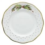 Herend China Winter Shimmer Porcelain Dessert Plate