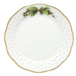 Herend China Winter Shimmer Porcelain Dinner Plate
