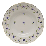 Herend Blue Garland Rim Soup Plate