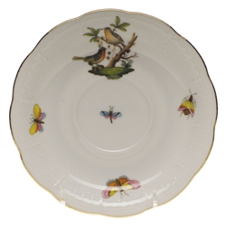 Herend Rothschild Bird Tea Saucer Motif #8
