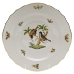Herend Rothschild Bird Salad Plate Motif #12