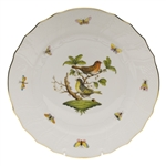 Herend Rothschild Bird Dinner Plate Motif #3