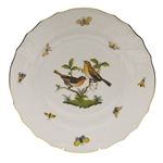 Herend Rothschild Bird Dinner Plate Motif #9