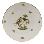 Herend Rothschild Bird Dinner Plate Motif #11