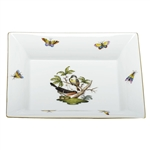 Herend China Jewelry Tray Rothschild Bird