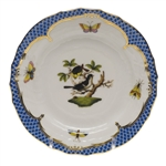 Herend Rothschild Bird Bread & Butter Plate Motif #1