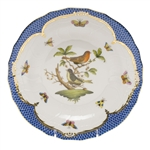 Herend Rothschild Bird Blue Dessert Plate Motif #3