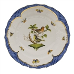 Herend Rothschild Bird Blue Dinner Plate Motif #3