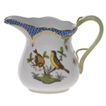 Herend Rothschild Bird Blue Creamer