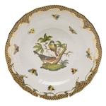 Herend Rothschild Bird Brown Dessert Plate Motif #2