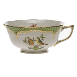 Herend Rothschild Bird Green Tea Cup Motif #7