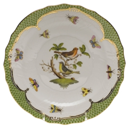Herend Rothschild Bird Green Salad Plate Motif #3
