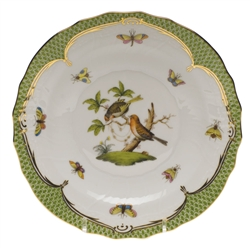 Herend Rothschild Bird Green Salad Plate Motif #10