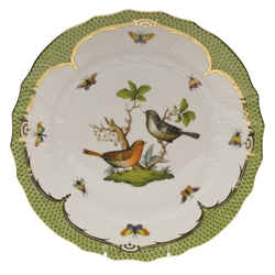 Herend Rothschild Bird Green Dinner Plate Motif #5