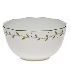 Herend Rothschild Garden Round Serving Bowl