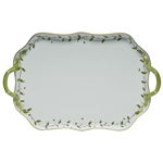 Herend Rothschild Garden Rectangular Tray