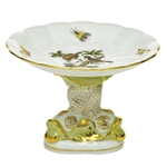 Herend Shell With Dolphin Stand Rothschild Bird