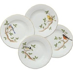 Herend Songbird Desert Plate Set of Four