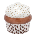 Herend Cupcake Chocolate Fishnet