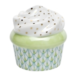 Herend Cupcake Key Lime Fishnet