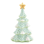 Herend Simple Christmas Tree Key Lime Fishnet