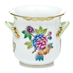 Herend Queen Victoria Mini Cachepot With Handles