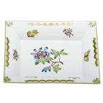 Herend China Jewelry Tray Queen Victoria
