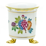 Herend Queen Victoria Mini Cachepot With Feet