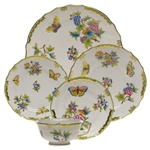 Herend Queen Victoria Five Piece Place Setting