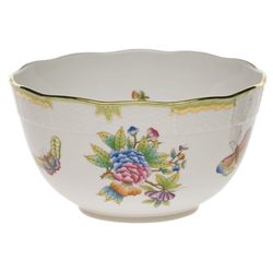 Herend Queen Victoria Round Serving Bowl