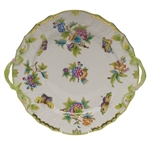 Herend Queen Victoria Plate With Handles