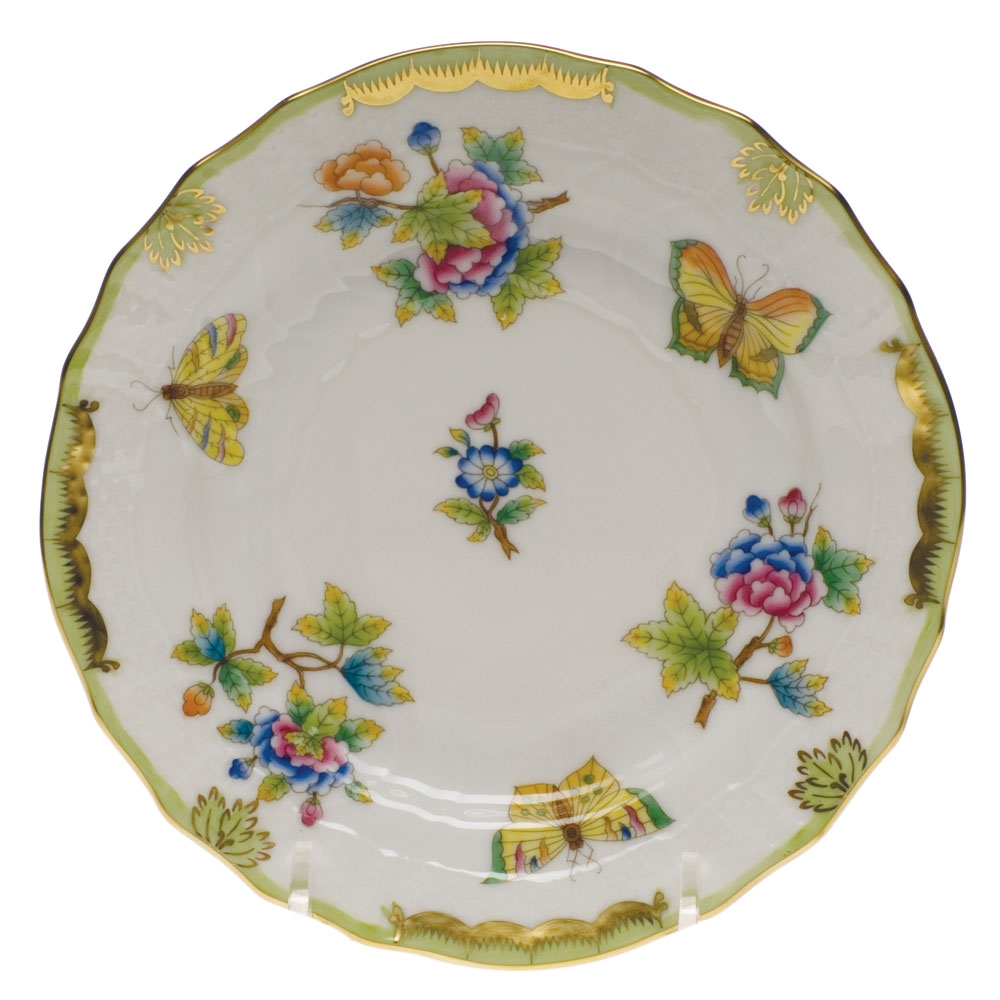 Herend Queen Victoria Bread Amp Butter Plate At Herendstore