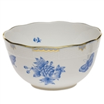 Herend Fortuna Blue Round Serving Bowl