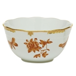 Herend Fortuna Rust Round Serving Bowl