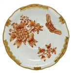 Herend Fortuna Rust Tea Saucer