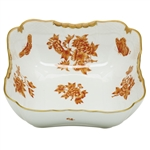 Herend Fortuna Rust Square Salad Bowl