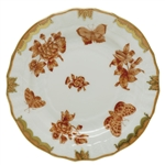 Herend Fortuna Rust Bread & Butter Plate
