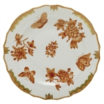Herend Fortuna Rust Salad Plate