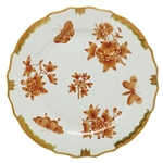 Herend Fortuna Rust Dinner Plate
